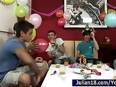 18 BirthDay Party with 7 Boys!