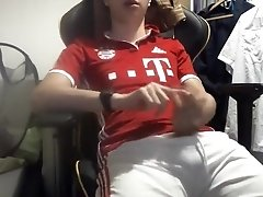 German Soccer Boy Wak on Cam