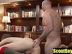 Horny Boyscout Bareback By Daddy Bear With Suggest Model