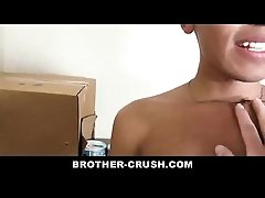 Tight Young Stepbrother Gets His Ass Stretched And Creamed - BROTHER-CRUSH.COM