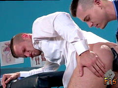 Gay nubile medical fisting and fisting movietures homosexual Brian Bonds stops in