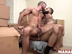 'MANALIZED Brendan Patrick Fed Jizz After Bottoming For Hung Stud'