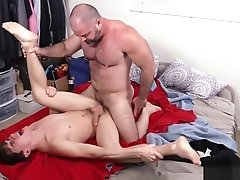 Stepdad agrees to help stepson in exchange for his ass