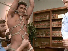 (Edging) 2 fellows Get tied up and teased
