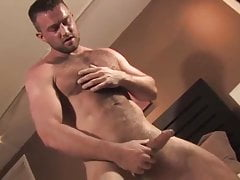 Heath Jordan solo JO in bed  (DILF)